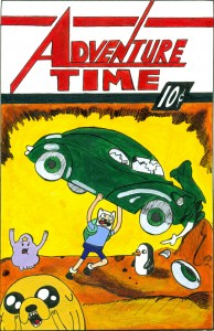 Adventure Time Action Comics #1