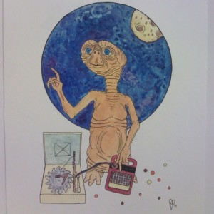 All finished up and ready to phone home... one down two to go!
